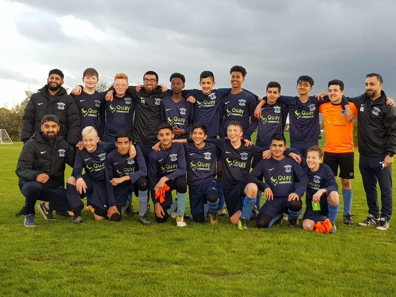 darnall football academy team photo