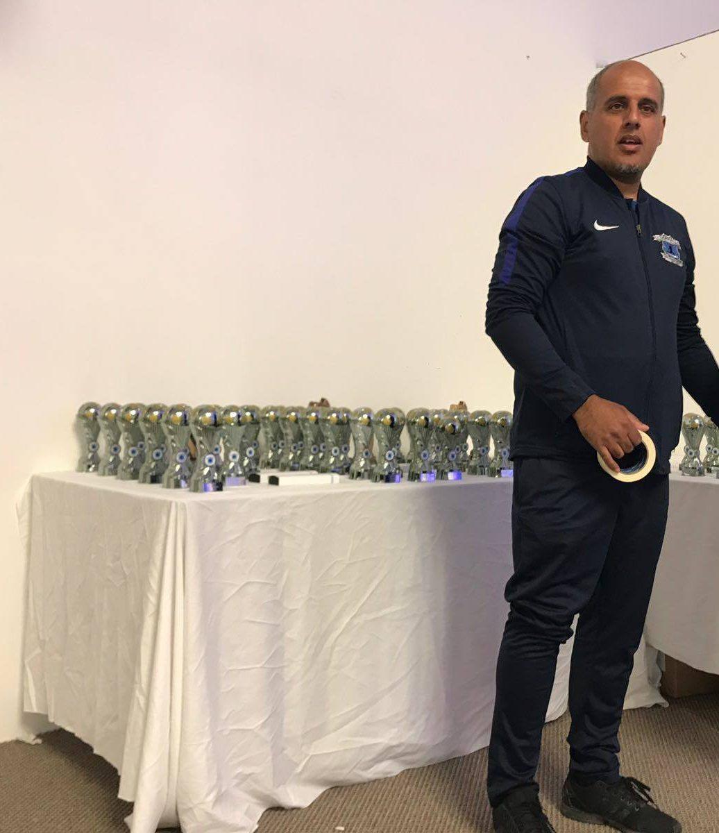 Darnall Football Academy Team Coach Kabier Aslam